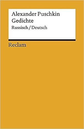 Russische Gedichte Zweisprachig Amazonde K Borowsky