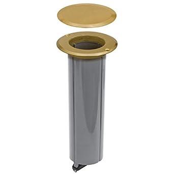 Hubbell Raco 6rf151sr Floor Box Kit 15 Amp Drop In Brass