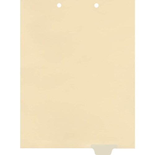 End Tab Chart Divider (Medical Arts Press Match Write-On End Tab Chart Dividers- Blank, Position 5 (100/Pkg) (56840))
