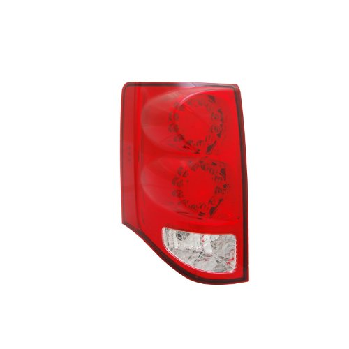 Grand Caravan Tail Light Lamp (TYC 11-6370-00 Dodge Grand Caravan Left Replacement Tail Lamp)