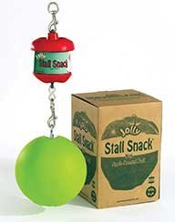 Stall Ball (Horsemen's Pride Stall Snack Holder with Apple-Scented Jolly Ball for Horses by Horsemen's Pride)