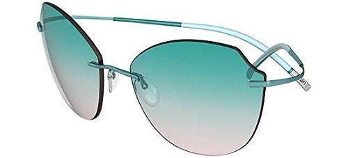 Silhouette Gafas de Sol TMA ICON 8158 AQUA GREEN/AQUA GREEN ...