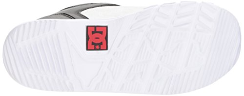 DC Men's Scout Boa Snowboard Boots, Black/White, 11