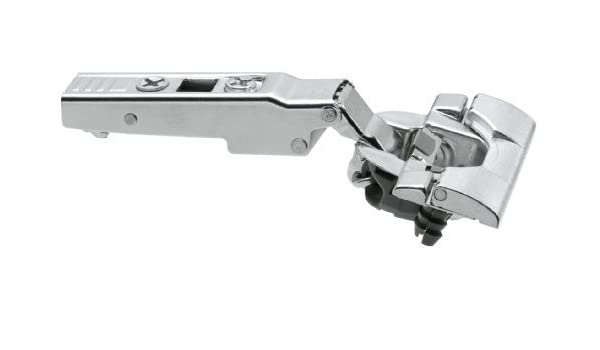"110 degree Straight Arm hinge 1//2/"" Overlay-Clip-on-Self Close with 3MM Plate"