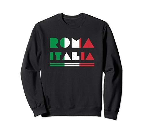 Roma Italia, Rome Italy Souvenir  Sweatshirt (Classic Sweatshirt Italy)