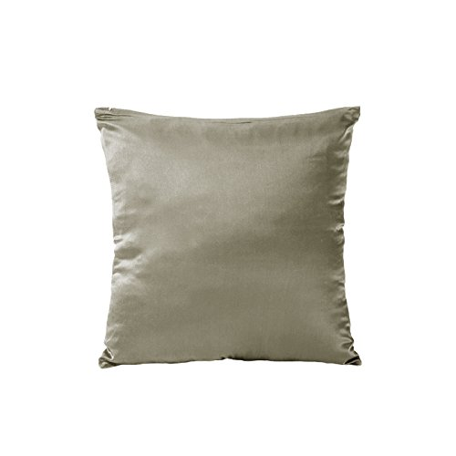 Tim & Tina 100% Pure Mulberry Luxury Silk Satin Pillowcase,Good for Skin and Hair (18″ ...