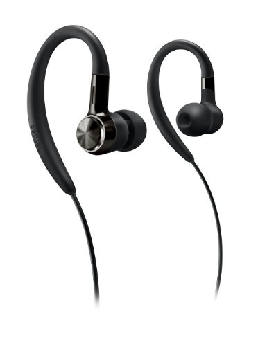 Philips Ear hook Headphones SHS8100 Black
