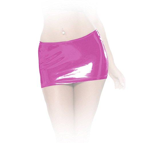 insistline–Scharfer ultrakurzer datex Minifalda Rosa