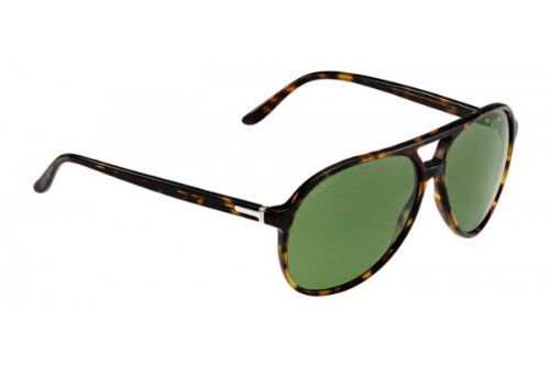 Gucci 1026 TVD Havana 1026 Aviator Sunglasses Lens Category - Sunglasses For Sale Gucci