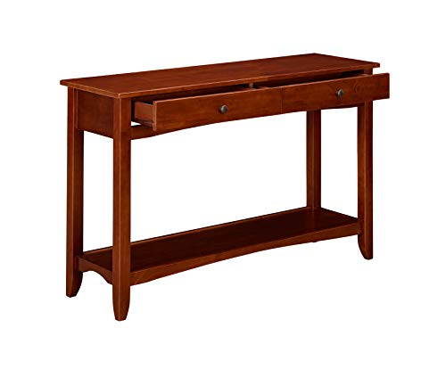 Ravenna Home Dora Classic Shelf Storage Wood Console EntryTable, 47.5