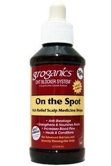 Groganics On The Spot Medicine Drops, 4 Ounce