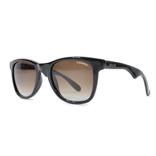 Carrera 6000L/N/S Sunglasses Nero Lucid / Brown Gradient - 6000 Sunglasses Carrera