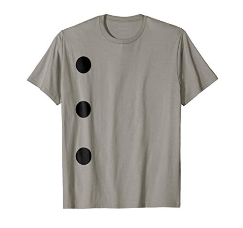 Three Hole Punch Office Supply Costume T-Shirt Sheet -