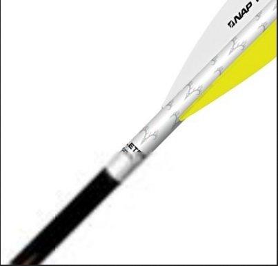 Quikfletch W/Y/Y Quikspin Fletch for Crossbow (3-Pack) by Quikfletch