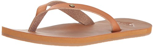 Roxy Women's Jyll Sandal Flip Flop, Tan, 7 M - Online 6pm Code