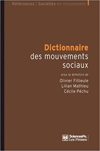 Livre Dictionnaire des mouvements sociaux pdf, epub