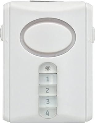 GE Deluxe Wireless Door Alarm, 45117 from GE