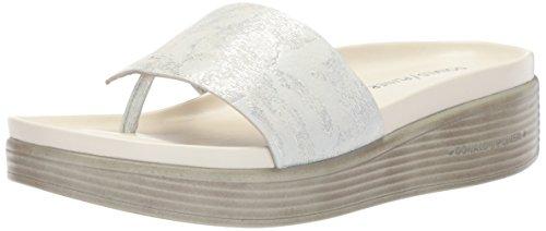 Donald J. Pliner Frauen Fifi19 Slide Sandale Silber