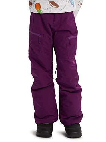 (Burton Girls' Elite Cargo Snow Pant, True Black W20, X-Small)