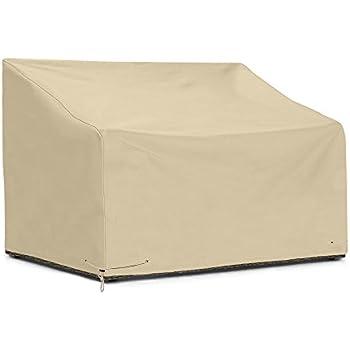 Amazon Com Sunpatio Outdoor Bench Cover 60 Inch Heavy