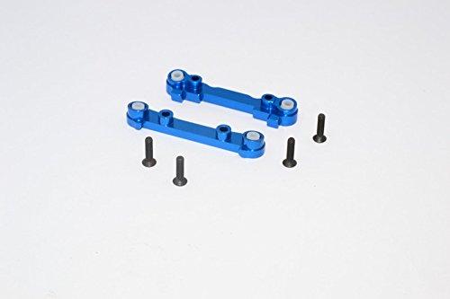 T Aluminum Mini - Team Losi Mini 8ight & 8ight-T Upgrade Parts Aluminum Front Suspension Mount - 2Pcs Blue
