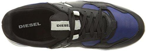 Diesel Heren Remmi-v S-furyy Ii Fashion Sneaker Zwart / Middeleeuws Blauw