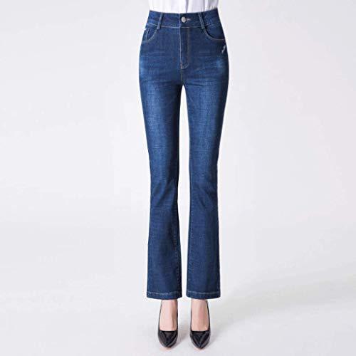 Mujeres De Jeans Para Elásticos Y Cintura Azul Flexibilidad Rxf Alta OUgqT0gR
