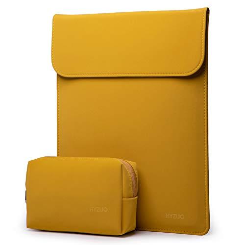 estuche + bolso para notebook 16 pulgadas amarillo HYZUO