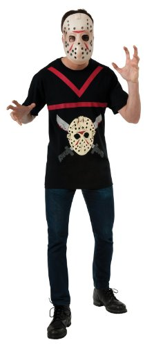 [Jason Vorhees Costume - X-Large - Chest Size 50] (Jason Vorhees Masks)