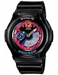 Casio Womens Bga141-1b2 Baby-g Black Analog Digital Sport Watch Bga-141 Limited Edition