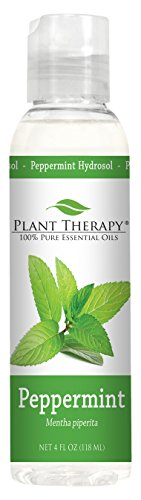Plant Therapy Peppermint Hydrosol. (Flower Water, Floral Water, Hydrolats, Distillates) Bi-Product of Essential Oils. 4 oz.