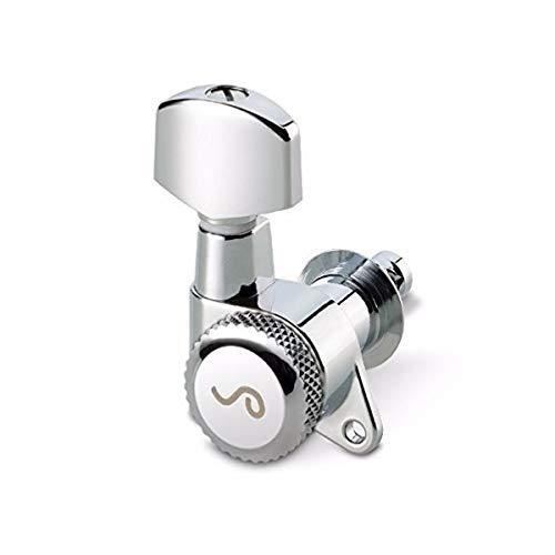 - Schaller Machine head M6 135 3 left/3 right Chrome