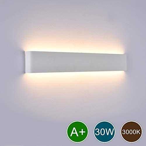 (Ralbay Modern Bathroom Vanity Lights 30W Aluminum Lights Decorative Lamps, LED Vanity Lights for Pathway, Staircase, Bedroom, Balcony, 3000K,)
