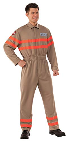 Rubie's Men's Movie Deluxe Kevin Ghostbuster Jumpsuit, As