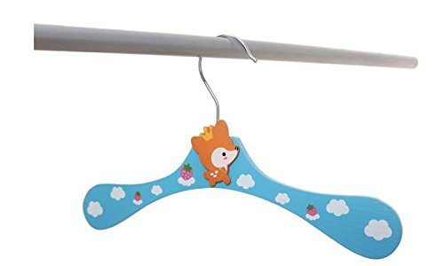 Wooden Cartoon Animal Hangers Lovely Children Hanger /Clothes Tree/coat Hanger 8pcs/lot by AnOs-Housekeeping