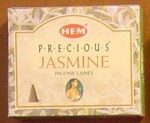 Precious Jasmine - Case of 12 Boxes, 10 Cones Each - HEM Incense From India