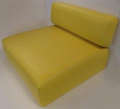 New John Deere Tractor Yellow Back Rest & Seat Cushion Set 40 320 330 420 M MT +