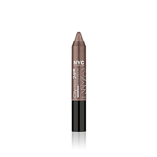 24 Hr Round The Clock (N.Y.C. New York Color City Proof 24 Hr Eye Shadow, Tribeca Taupe, 0.07 Ounce)