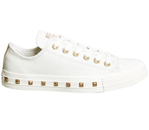 Beige Taylor Converse Stud Ox adulto Egret Unisex Lea Chuck Sneaker Core Blush Exclusive Particle qCwCRP