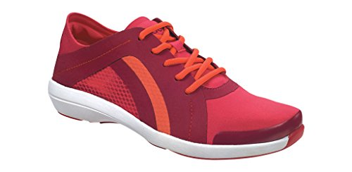 Aetrex Women's Berries Fashion Sneaker, Pomegranate, 6.5 M US