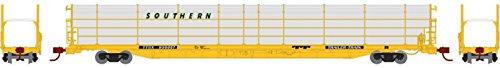 Athearn ATH14401 N F89-F Bi-Level Auto Rack, SOU/TTBX #930057 Bi Level Auto Rack