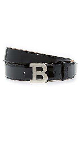 bally-mens-b-buckle-belt-black-patent-one-size