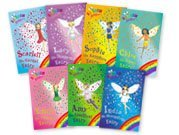 Set Gift Sapphires Diamonds (Rainbow Magic: Jewel Fairies, 7 Books, RRP £27.93 (India the Moonstone Fairy, Scarlett the Garnet Fairy, Emily the Emerald Fairy, Chloe the Topaz Fairy, Amy the Amethyst Fairy, Sophie the Sapphire Fairy, Lucy the Diamond Fairy) (Rainbow Magic))