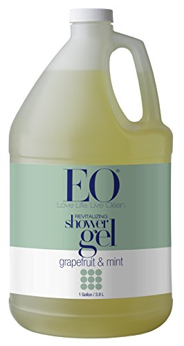 EO Products Soothing Botanical Shower Gel Refill, Grapefruit & Mint, 128 Ounce