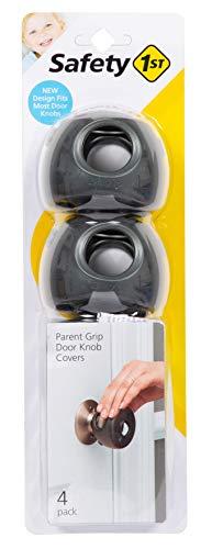Couvreboutons de porte à poignée parentale Safety 1st grisanthracite taille unique paquet de 4