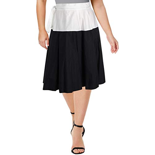 - Jil Sander Navy Womens Cotton Everyday Wrap Skirt Navy 42