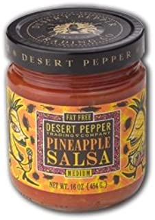 product image for Desert Pepper, Pineapple Salsa-Medium, 16 Ounce Jar