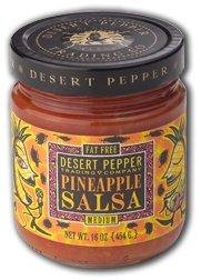Desert Pepper, Pineapple Salsa-Medium, 2 - 16 oz Jars