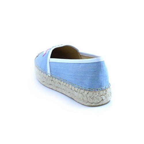 Guess Women's Fashion Sandals Blue Blue c4kQSQZTN