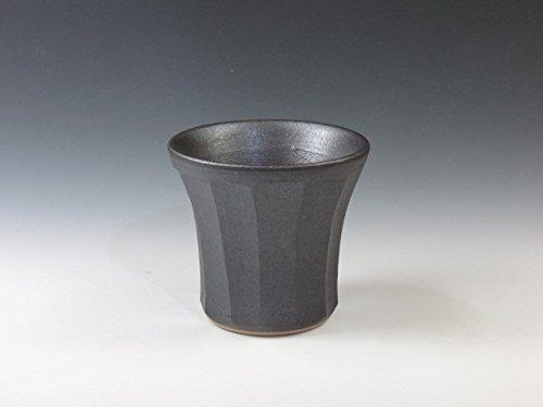 Iwami-Yaki Japanese pottery sake cup